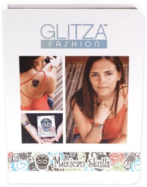 Glitza Fashion Tattoo Mexican Skulls Deluxe Giftbox (7828)