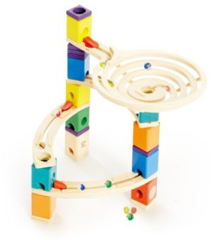 Hape Quadrilla Marble Run Ξύλινο The Roundabout (E6005)