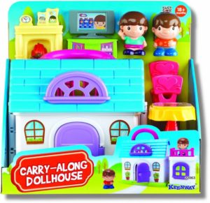 Keenway Carry-Along Dollhouse (22063)
