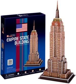 BW Παζλ 3D Empire State Building-39Τμχ (C704H)
