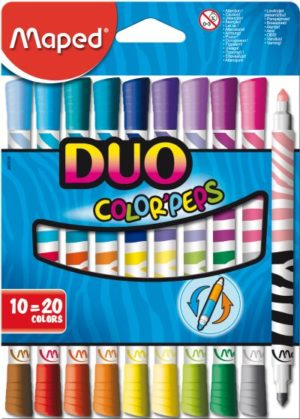 Maped Μαρκαδόροι Color Peps Duo Felt 20Τμχ (847010)