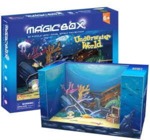 BW Παζλ 3D Magic Box Underwater World 28Τμχ (OM3603H)