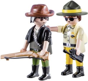 Playmobil Duo Pack Δασοφύλακας & Κυνηγός (9217)
