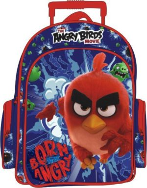 Angry Birds Born To Be Angry Σακίδιο Διπλό Trolley (163610)