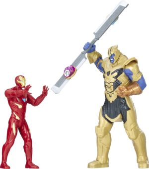 Avengers Iron Man Vs Thanos Battle Set (E0559)
