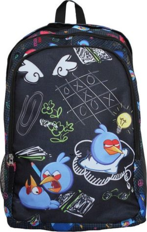 Angry Birds Back To School Σακίδιο Οβάλ Διπλό (163903)