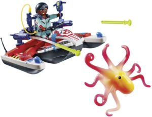 Playmobil Ghostbusters Δρ.Ζέντμορ Με Aqua Scooter (9387)