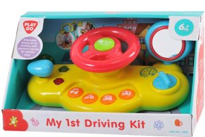 Playgo I & T Μικρός Οδηγός My 1st Driving Kit B/O (1655)