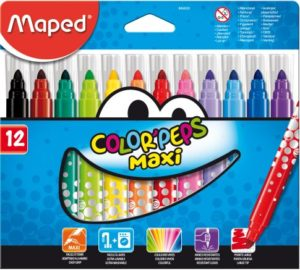 Maped Μαρκαδόροι Color Peps Maxi 12Τμχ (846020)