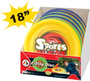 BW AJ Sports Fun Flying Disc 46cm-4 Χρώματα (AJ103FD)