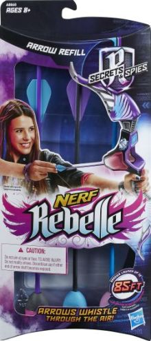 Nerf Rebelle Secrets & Spies Arrow Refill Pack (A8860)