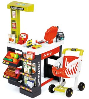 Smoby Role Play Supermarket Red (350210)