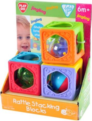 Playgo Rattle Stacking Blocks (2090)
