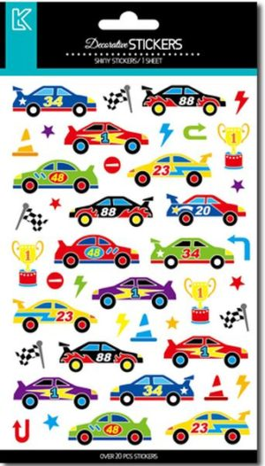 LKing Sticker Racing Cars (CLA7231V)