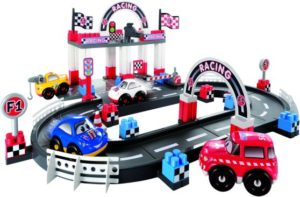 Ecoiffier Abrick Πίστα Fast Car Racing (3079)