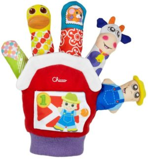 Chicco Farmyard Finger Puppet (7651)