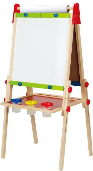 Hape Early Explorer Ξύλινος Πίνακας All-In-One Easel (E1010)