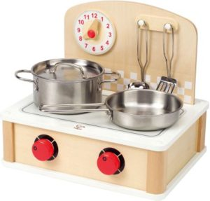 Hape Playfully Delicious Ξύλινη Κουζίνα 2 Σε 1 Cooktop (E3134)