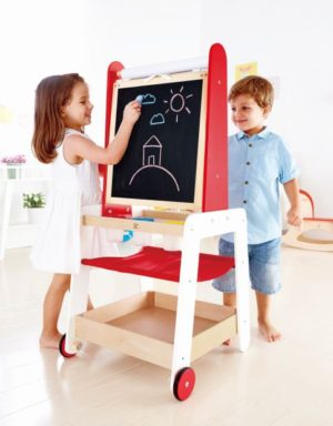 Hape Early Explorer Ξύλινος Πίνακας Create & Display Easel (E1055A)