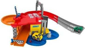 Chicco Turbo Team Stop & Go Playset 4 in 1 (7414)