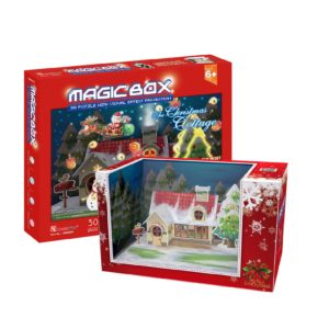 BW Παζλ 3D Magic Box The Christmas Cottage 30Τμχ (OM3605H)