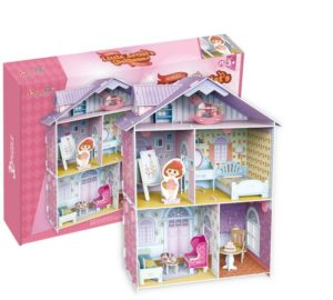 BW Παζλ 3D Little Artist's Doll House 60Τμχ (K1201H)