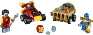 LEGO Super Heroes Mighty Micros: Iron Man vs. Thanos (76072)