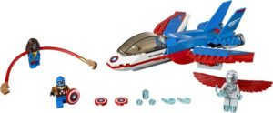 LEGO Super Heroes Mighty Micros: Captain America Jet Pursuit (76076)