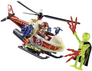 Playmobil Ghostbusters Δρ.Βένκμαν Με Ελικόπτερο (9385)
