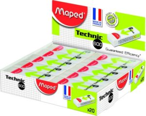 Maped Γόμα Technic 600-Ds 1Τμχ (011600)