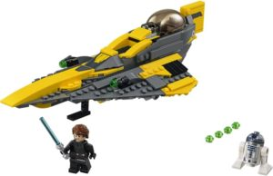 LEGO Star Wars Anakin's Jedi Starfighter (75214)
