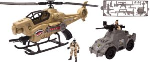 CM Soldier 9-Shadow Copter Playset (540069)