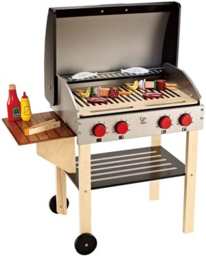 Hape Playfully Delicious Ξύλινο BBQ Gourmet Grill (E3127A)