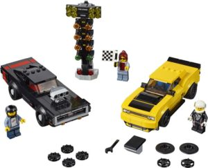 LEGO Speed Champions Dodge Challenger SRT Demon and 1970 Dodge Charger (75893)