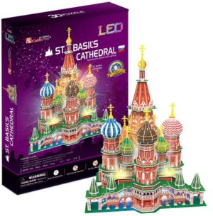 BW Παζλ 3D St.Basil's Cathedral (Russia) 224Τμχ (L519H)