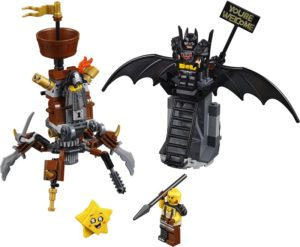 LEGO Movie 2 Battle-Ready Batman & MetalBeard (70836)