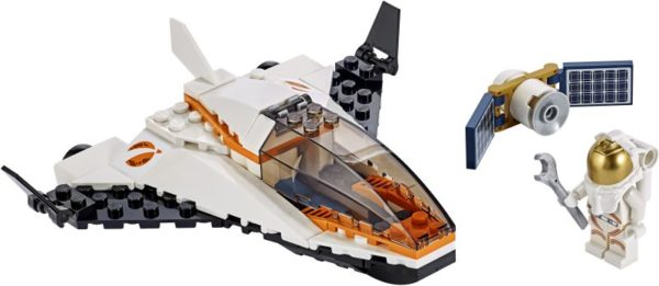 LEGO City Space Satellite Service Mission (60224)
