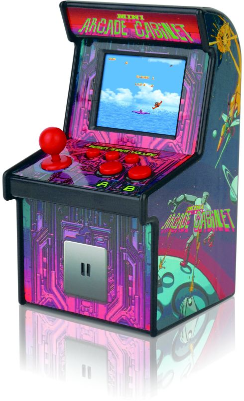 TKI Video Game Micro Arcade 250 In 1 (8052C(250))