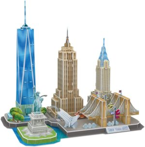 BW Παζλ 3D Cityline New York City-123Τμχ (MC255H)