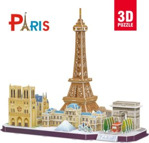 BW Παζλ 3D Cityline Paris (France)-114Τμχ (MC254H)