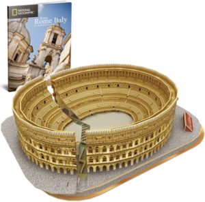 BW Παζλ 3D The Colosseum (Rome-Italy)-131Τμχ (DS0976H)
