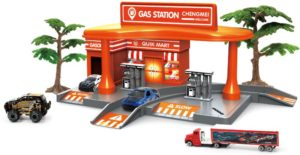 BW Βενζινάδικο Racing Gasoline Stand Playset (CM559-52)