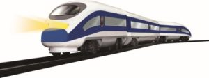 Goldlok B/O Τρένο Hyper Express (9687-08)