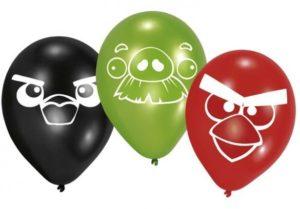 Μπαλόνια Angry Birds 6Τμχ (Μ450291)