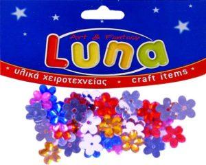 Luna Στρας Λουλούδια (601623)