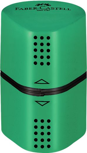 Faber Castell Ξύστρα Τριπλή Grip Trio Πράσινη (12308735)