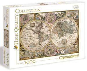 Clementoni Παζλ 3000 Χάρτης Αντίκα (1220-33531)