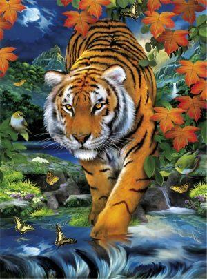 Clementoni Παζλ 3D-Τίγρης (1260-39185)