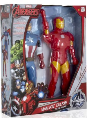 Imc Iron Man & Captain America Walkie Talkie Φιγούρες (390133)
