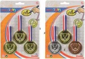 Simba Σετ 3 Μετάλλια-2 Σχέδια (8614918)